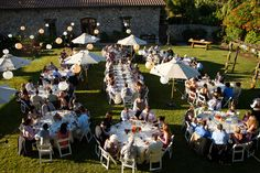 Blue + Orange Sonoma Wedding