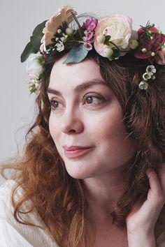 Flower Crown | Floral Headpiece | Flower photography | Hair Inspiration