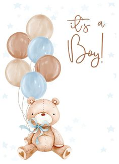 Baby Shower Background, Flower Background Wallpaper, Baby Wallpaper, Teddy Bear Baby Shower, Baby Boy Shower, Sweet Dreams Baby, Baby Shower Clipart, Baby Boy Cards, Baby Month Stickers