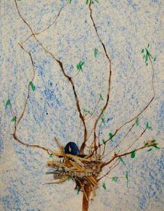 Adventures of an Art Teacher: 1st Grade Bird Nests