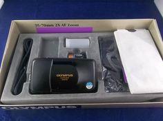 Vintage NOS Olympus Stylus Zoom DLX AF 35-70MM Quartz  Date Point & Shoot Camera   #Olympus #Vintage #NOS #Stylus #35MM #FilmPhotography #Camera #Rare #PointAndShoot #eBay