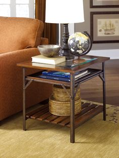 Hammary Mercantile Rectangular End Table...see it at LaZBoy in Beavercreek, OH