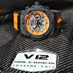 Hublot have just made this piece unique 1/1 for my friend @TheOrangeArmy to match his fleet of cars  King Power Unico