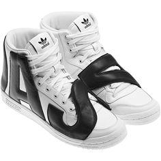 best sneakers 6ed69 26828 Adidas Jeremy Scott JS LETTERS white   black Adidas Hombre, Zapatillas  Adidas, Jeremy Scott