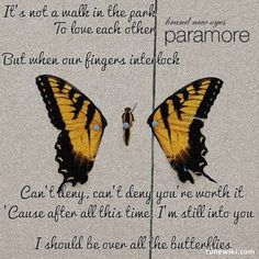 "-- #LyricArt for ""Still Into You"" by Paramore"