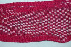 Shoulder belt of a Fitawari made of silk. The belt is made of magenta silk by a technique known as interlinked sprang. Both ends of the belt are finished with corded tassels. British museum no. Textiles Techniques, Textile Fiber Art, British Museum, Ethiopia, Magenta, Weaving, Detail, Shoulder, Artists