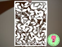 Birds On Branches Papercut Template SVG / DXF Cutting Files For Cricut / Silhouette & PDF Printable Hand Cutting Template Download, by DigitalGems on Etsy