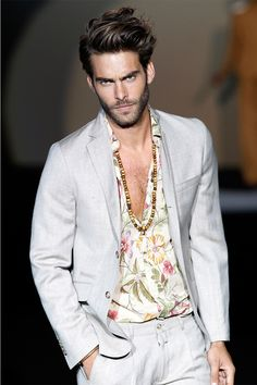 Roberto Verino presented his Spring/Summer 2014 collection during Mercedes-Benz Fashion Week Madrid,
