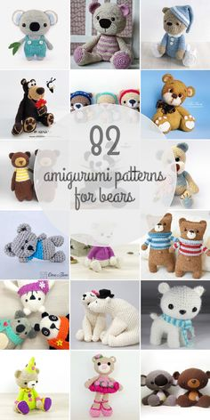 Amigurumi Patterns For Bears