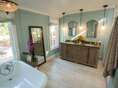 Some house hunters look for move-in ready properties, but buyers on HGTV's House Hunters Renovation look for spaces they can put their own stamp on. See how they transform run-down or ordinary houses into beautiful homes.