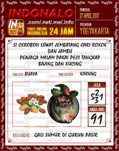 Syair Kuat 2D Togel Wap Online Indonalo Yogyakarta 27 April 2017