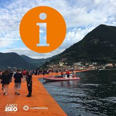 #INprimafila sulle notizie #TheFloatingPiers  2030 presenti sull'opera alle ore 9 il sistema trasportistico funziona e siamo contenti che non ci siano disagi di accesso.    At 9am 2030 people have already been  at the opening on the floating piers  transport and safety system are running smoothly and we're happy there haven't been any Inconveniences so far. #visitlakeiseo #inlombardia - http://ift.tt/1HQJd81