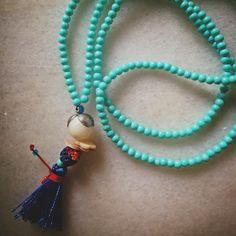 Handmade necklace - Antiparos series