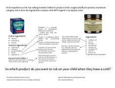 I couldn't imagine putting TURPENTINE on my baby!  So thankful for NYR's Eucalyptus salve!