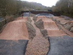 Build a Backyard BMX Bike Track