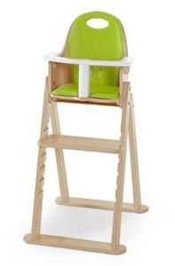 Scandinavian Child Baby-to-Booster Bentwood High Chair in Natural | My Urban Child -