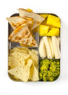 The lunchtime sandwich may be as American as the flag itself, but let's face it: Slapping the same smears onto bread — day after day, week after week — can leave kids and parents a little bored. Here are 10 ideas for sandwich-free lunches that take cues from home and abroad. Test drive them all with your little eaters (or yourself!) to find new, interesting lunch box variations that keep everyone's appetites healthy. To pick which one you should start with, play our video recipe roulette…