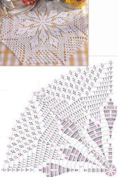 Crochet Doily Patterns, Crochet Mandala, Crochet Patterns Amigurumi, Filet Crochet, Crochet Doilies, Crochet Lace, Simply Crochet, Rug Runner, Crocheting