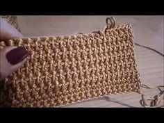 Filmato - YouTube Crochet Stitches, Knit Crochet, Crochet Patterns, Lavender Bags, Sunflower Tattoo Design, Straw Tote, Learn To Crochet, Blog, Purses