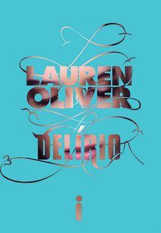"Capa nacional do livro ""Delírio"" de Lauren Oliver"