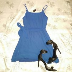 Forever 21 summer dress Indigo silk summer dress so simple and can be sofisticated Forever 21 Dresses