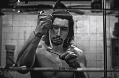 Adam Driver relaxes in a bathtub as he covers the December 2017 issue of Interview magazine. Appearing before the lens of photographer Steven Klein… Adam Driver Interview, Kylo Ren Adam Driver, Star System, Shocking News, Martin Scorsese, Reylo, Black And White Pictures, Dark Horse, Man Fashion