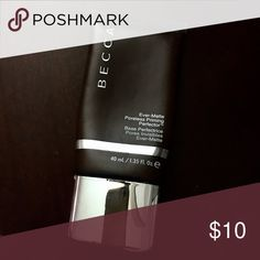 BECCA ever matte poreless primer Awesome primer for oily skin!! This bottle has been used but I have too many! Still about 60% full. Reflected in price. New bottle is $36. BECCA Makeup Face Primer