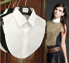 Cheap clothes model, Buy Quality blouse sequins directly from China clothes stock Suppliers:  Hot Sale ! Clothes Accessories false collar white & black blouse detachable collars         fashion wom