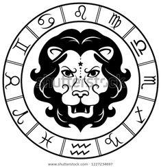 Стоковая векторная графика «Leo Horoscope Zodiac Sign Silhouette Isolated» (без лицензионных платежей), 1227234697 Leo Horoscope, Zodiac Signs, Darth Vader, Silhouette, Fictional Characters, Image, Star Constellations, Fantasy Characters, Horoscopes