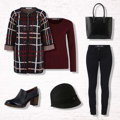 Wir <3 den Herbst und haben daher für euch einen trendigen Look zusammengestellt. Quadratisch, praktisch, gut! Shop now den ganzen Look.