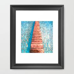 Walk with Me Framed Art Print by Xchange Studio  - $35.00