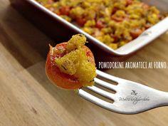 Pomodorini aromatici al forno