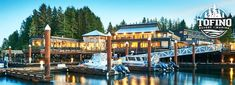 Save up to and Experience a Getaway for Two in a Queen Suite at the Beautiful Tofino Resort & Marina! Escape to the peaceful tranquillity of Canada's favourite beach & adventure town today! Adventure Town, Beach Adventure, Whale Watching, Stay The Night, Queen, Vancouver Island, Hot Springs, Tours, Explore