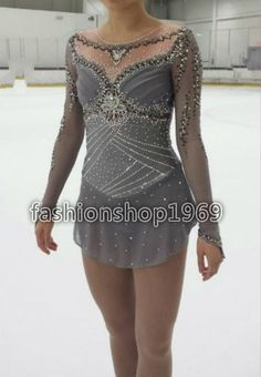 New style  Figure Ice Skating Dress Ice Skating Dress For Competition xx232 #Unbranded