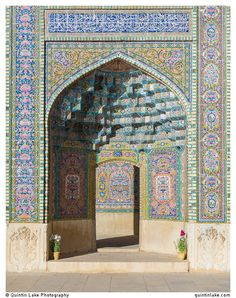 Nasir al-Mulk Mosque, (aka the Pink Mosque) Shiraz, Iran. Photo: Quintin Lake