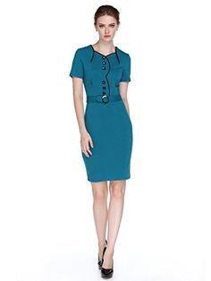 L'ALYSSE Women Elegant Colorblock Cocktail Business Knee Length Dress(Green,M) L'alysse http://www.amazon.com/dp/B015STEMM4/ref=cm_sw_r_pi_dp_JIZIwb0VYYV8F