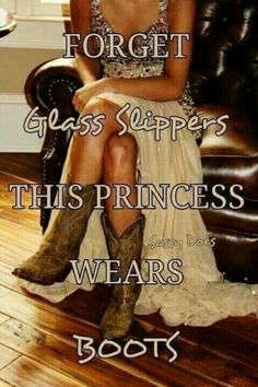 Boots all the way! ;D