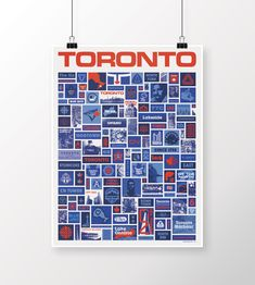 Inspired by Aaron Draplin's state posters, I decided to make one for Toronto!