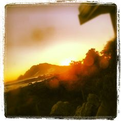 Sunset at Betty's bay, Cape Town