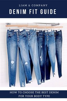 Jeans. Some women live in them, while other women hate them. And the reason usually comes down to finding the proper fit. Yes, ladies, we are here to tell you that there are jeans today that fit every body type comfortably, and they can do it in a way that is flattering. So, read on to learn about the latest trends in denim, which are more inclusive than ever! (How To, Fashion Tips & Tricks, Cute Casual Outfits)