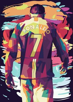 Cristiano Ronaldo poster by from collection. By buying 1 Displate, you plant 1 tree. Messi Poster, Nike Poster, Soccer Poster, Cristiano Ronaldo Manchester, Ronaldo Juventus, Cristiano Ronaldo 7, Ronaldo Wife, Ronaldo Goals, Cristiano Ronaldo Hd Wallpapers