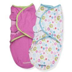 Summer Infant 2-pk. SwaddleMe Adjustable Infant Wraps