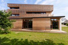Modern wooden cladding
