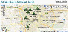 De fietsersbond in Brussels Gewest
