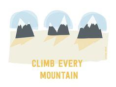 Climb every mountain http://helloadventurer.nl/ a project by Studio Brun http://www.studiobrun.nl/