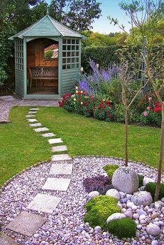 Beautiful backyard landscaping ideas on a budget (24)