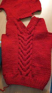 Curso de tejido a mano: Pullover escote V para niño. Knitting For Kids, Baby Knitting, Crochet Stitches Patterns, Stitch Patterns, Baby Kids, Knit Crochet, Sweater Cardigan, Pullover, Casual