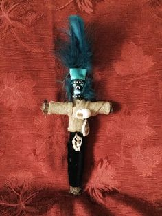 A personal favorite from my Etsy shop https://www.etsy.com/ca/listing/547052945/voodoo-doll-agwe-authentic-new-orleans