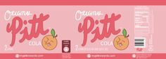 Gravity Falls party: PITT Cola Label free printable (2L) by Rincat21.deviantart.com on @DeviantArt