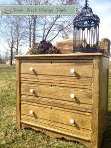 ~Mustard Seed Yellow Washstand~ - Farm Fresh Vintage Finds